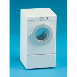 Modern Front Load Washer White