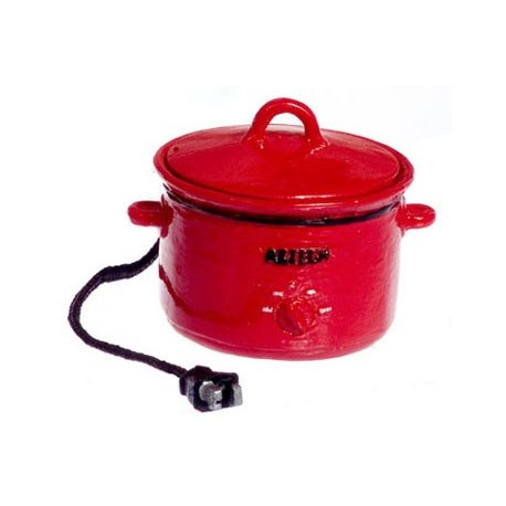 Electric Crockpot Red