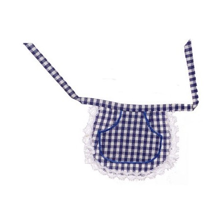 Waist Apron Plaid Navy