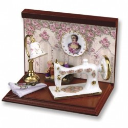 Mini Sewing Machine Vignette