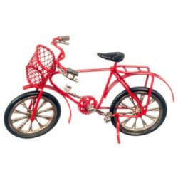Child's Red Bicycle