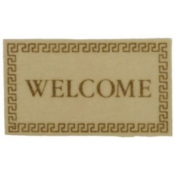 Welcome Mat Ivory