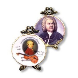 Mozart and Bach Plate Set