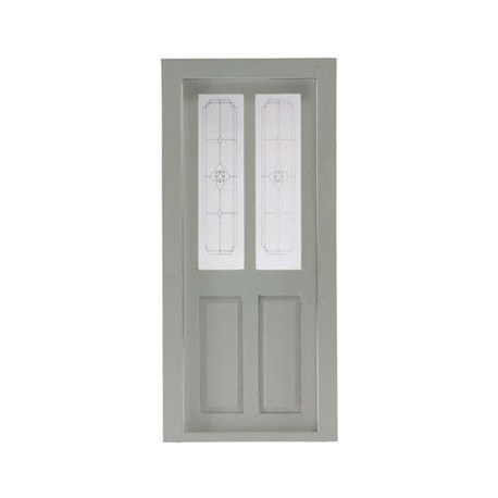 Transom Door White