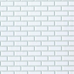 Brick White on White 12 x 16