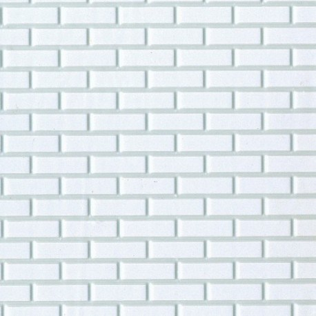 Brick White On White 12 X 16 Dollhouse Siding Superior