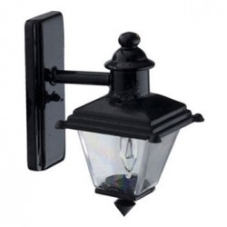 Small Black Coach Light