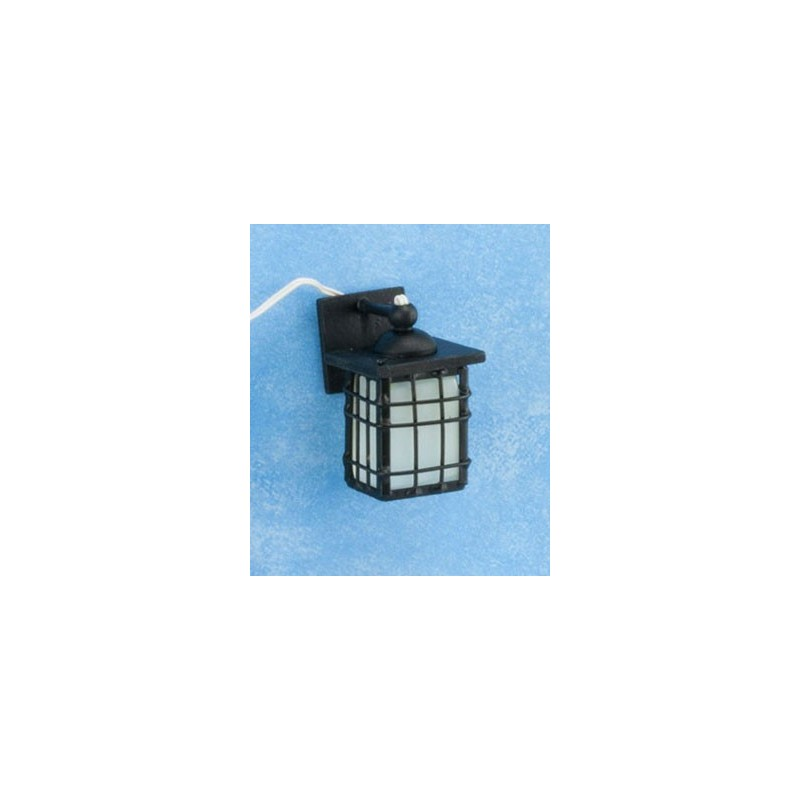 Craftsman Outdoor Coach Lamp Black