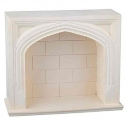 Resin Tudor Fireplace Mantel