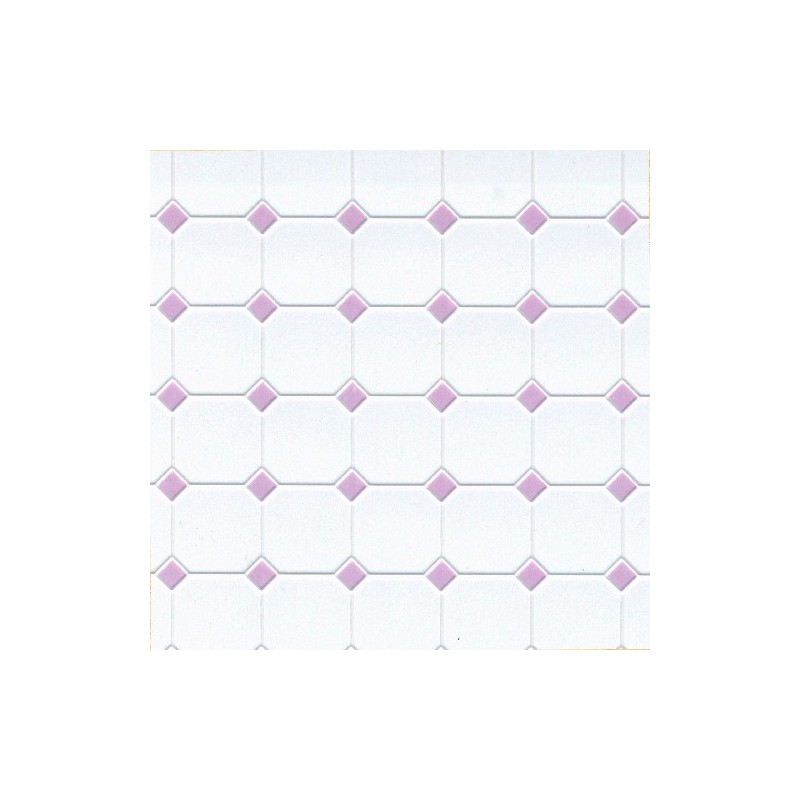 tile diamond 12 x 16 lilac