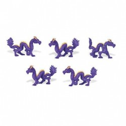 Micro-Mini Chinese Dragon 12Pc