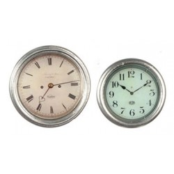 Silver Color Clocks 2