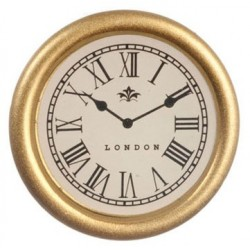 Small Gold Clock