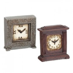 Resin Clocks- 2 Pcs.