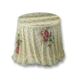 Skirted Side Table