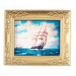Sailing Ship In Frame