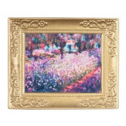 Monet-Garden In Frame
