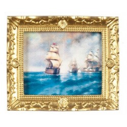 Sailing Ships In Frame