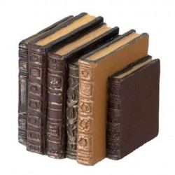 Resin Row Of Old Books