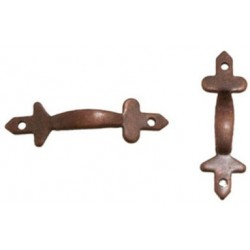 Door Pulls 2 Pk Oil Rubbed Bronze