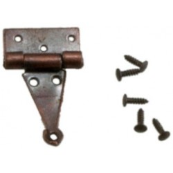 T-Hinges w nails Oil Rubbed Bronze 4 pk