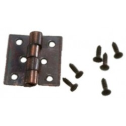 Butt Hinges W Nails 4 Pk Oil Rubbed Bronze