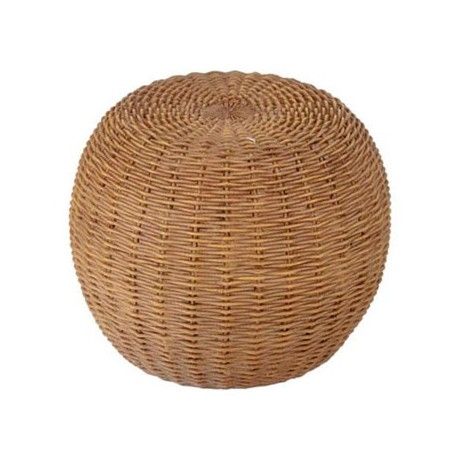 resin wicker ottoman dollhouse rattan wicker furniture
