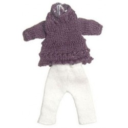 Teen Girl Pur Sweater Set