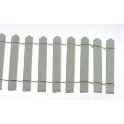 2 Inch White Picket Fence 18 In Long