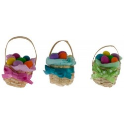 Easter Basket Assorted Colors