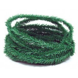 10 Ft Mini Pine Roping Green