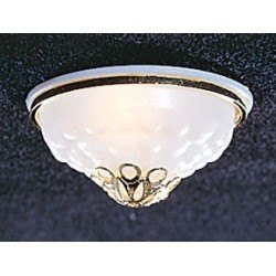 Ceiling Lamp with Ornemental Shade