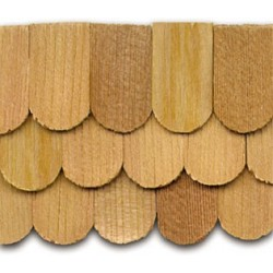 Cedar Fishscale Shingles 140 pack