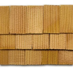 Cedar Rectangle Shingles 140 pack