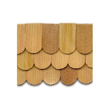 Cedar Fishscale Shingles 1000 pack