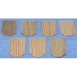 Cedar Hexagon Shingles 1000 pack