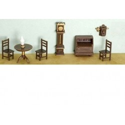 1/4 in. 8 pc Living Room Set