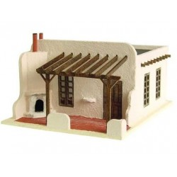 The Adobe House Kit 1/144th Scale