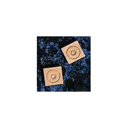 WOOD HEAD BLOCKS, 12/PK