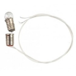SCREW BASE BULB WITH WIRE 12 VOLT