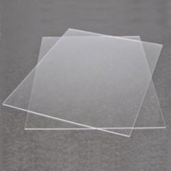 Clear Plastic 015Inx85Inx11In 2Pc