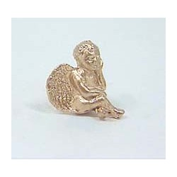 Sitting Cupid-gold
