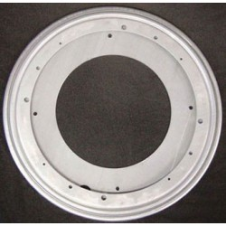Steel Turntable, 12 In Diam., Supports 1000 Lb