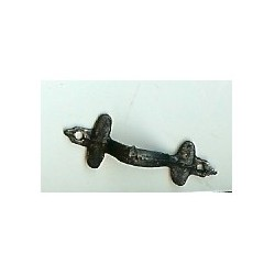 Colonial Door Handle Black
