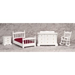 Bedroom  Set  4/Pc  White
