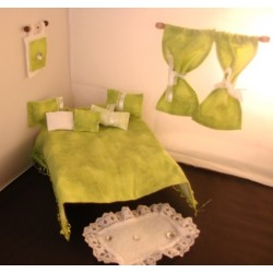 Green Frost Room In A Bag- Designer Bedroom