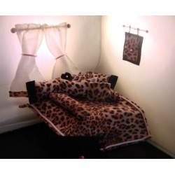 Pink Leopard Room In A Bag- Designers Bedroom