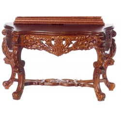 HAPSBURG CONSOLE TABLE, WALNUT