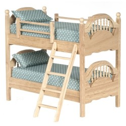 Spindle Bunk Bed/oak/cb