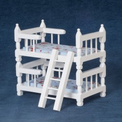 Bunkbeds/ladder/white/cb